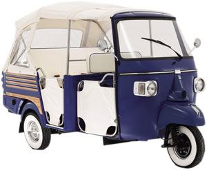 piaggio ape calessino - limited edition